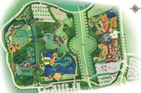 Detailed Master Plan for Eco-Park and Gullivers Land, Milton Keynes, UK